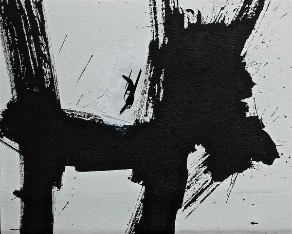 Painting - Test...homer's Iliad Aka Dogzilla  by Cliff Spohn