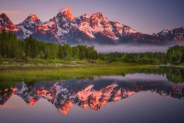 Photograph - Teton Awakening  by Darren  White