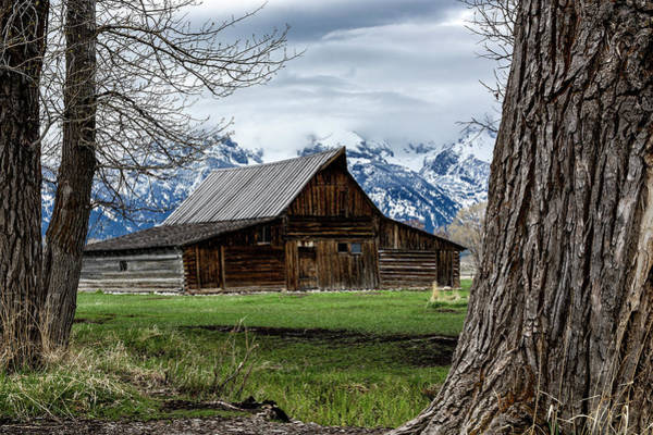 Photograph - Teton Barn #1 by Scott Read