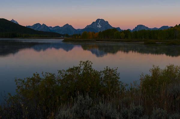 Photograph - Teton Dusk by Gary Lengyel