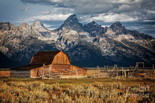 Photograph - Teton Homestead by Scott Kemper