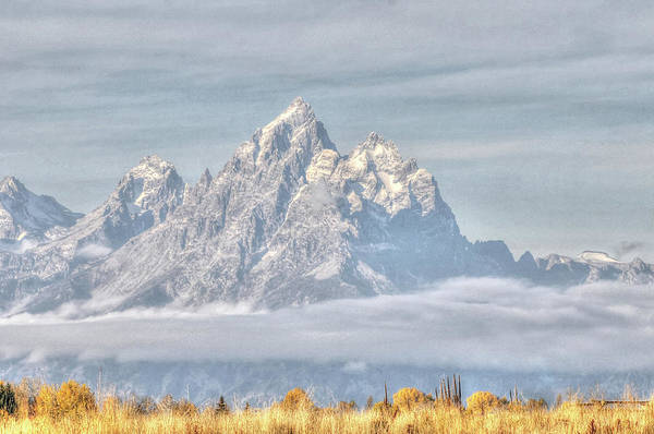Photograph - Teton Long Shot by David Armstrong