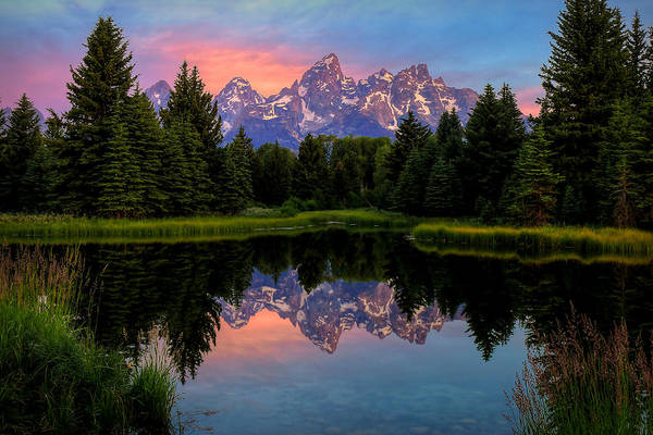 Photograph - Teton Mornig Glow  by Ryan Smith