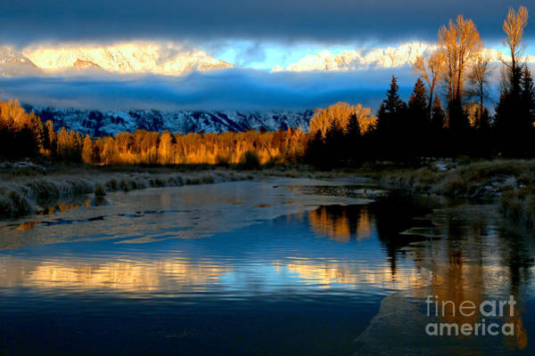 Photograph - Teton Morning Brilliance by Adam Jewell