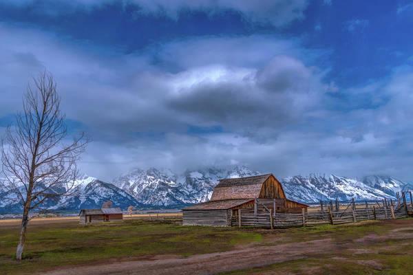 Teton National Park Mormon Row Art Print