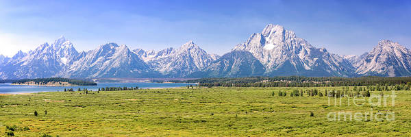 Wall Art - Photograph - Teton Panorama by Delphimages Photo Creations