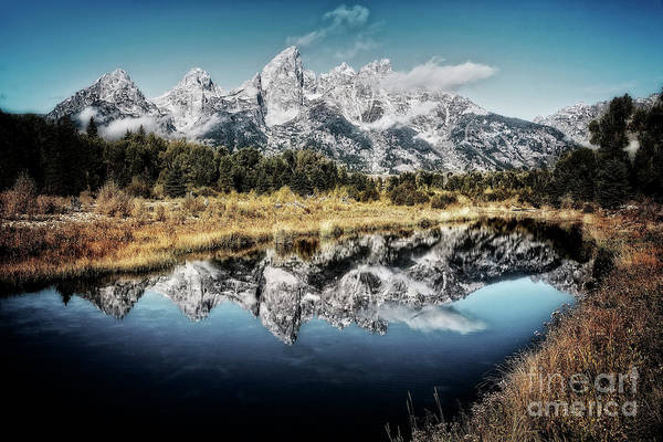Photograph - Teton Reflection 2 by Scott Kemper