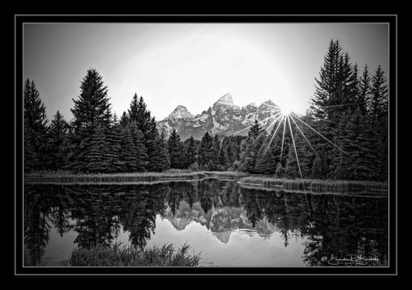 Wall Art - Photograph - Teton Reflection At Sunset by Brenda D Busskohl