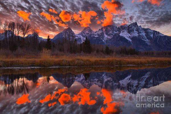 Photograph - Teton Sky Highlights by Adam Jewell