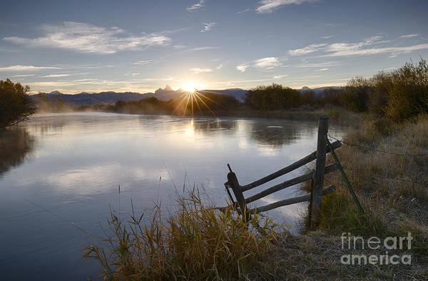 Wall Art - Photograph - Teton Star by Idaho Scenic Images Linda Lantzy