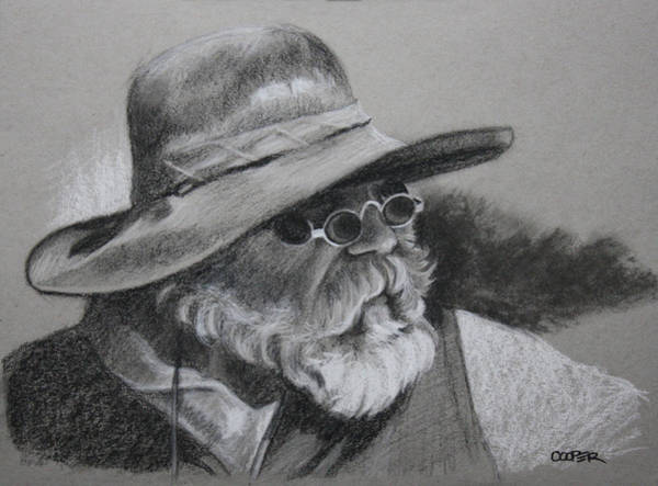 Drawing - Teton Trader by Todd Cooper