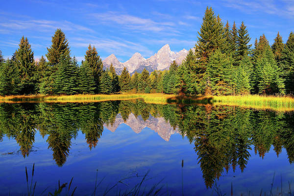Photograph - Teton Tranquility by Greg Norrell