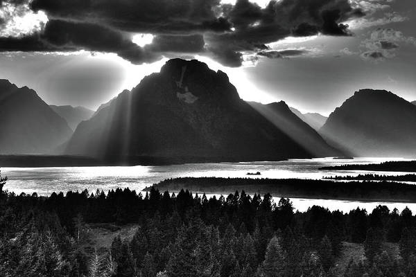 Photograph - Tetons Cape Of Light by Aidan Moran
