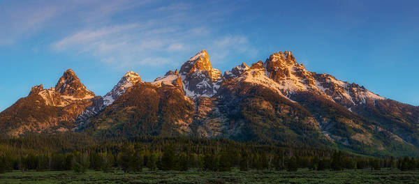 Photograph - Teton's First Light by Darren White