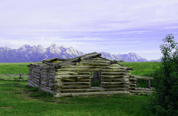 Photograph - Tetons From The Shane Barn by Craig Ratcliffe