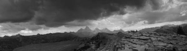 Photograph - Tetons From The Summit Of Fred's Mountain by Raymond Salani III