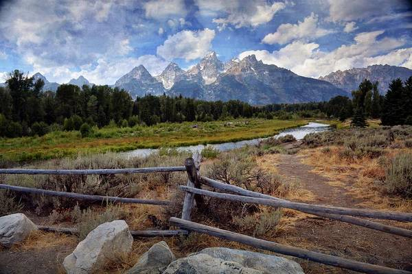 Photograph - Tetons Grande 3 by Marty Koch