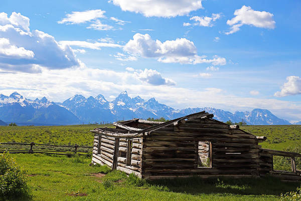 Photograph - Tetons View by Jean Clark