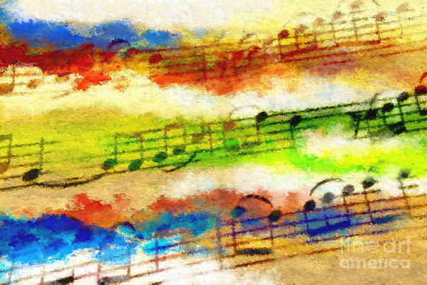 Digital Art - Tetrachromatic Trio by Lon Chaffin