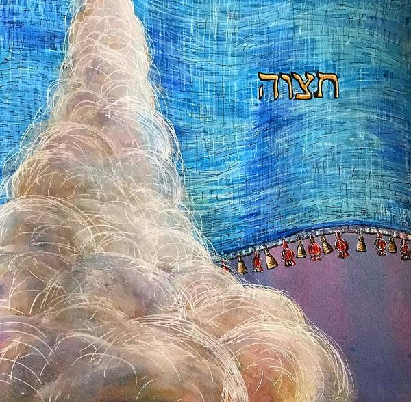 Painting - Tetzaveh by Starr Weems