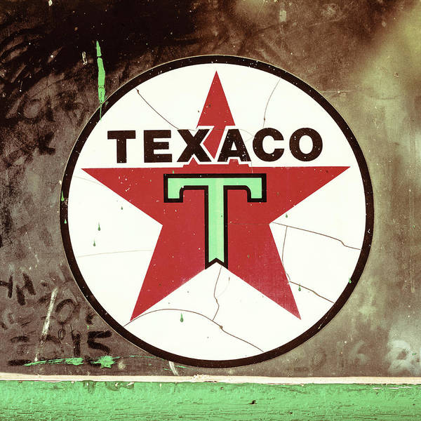 Wall Art - Photograph - Texaco Star - #2 by Stephen Stookey