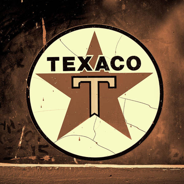 Wall Art - Photograph - Texaco Star - #3 by Stephen Stookey