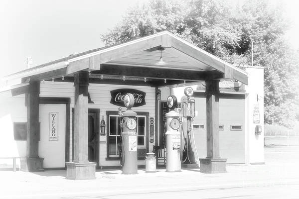 Photograph - Texaco Station by Charles Owens