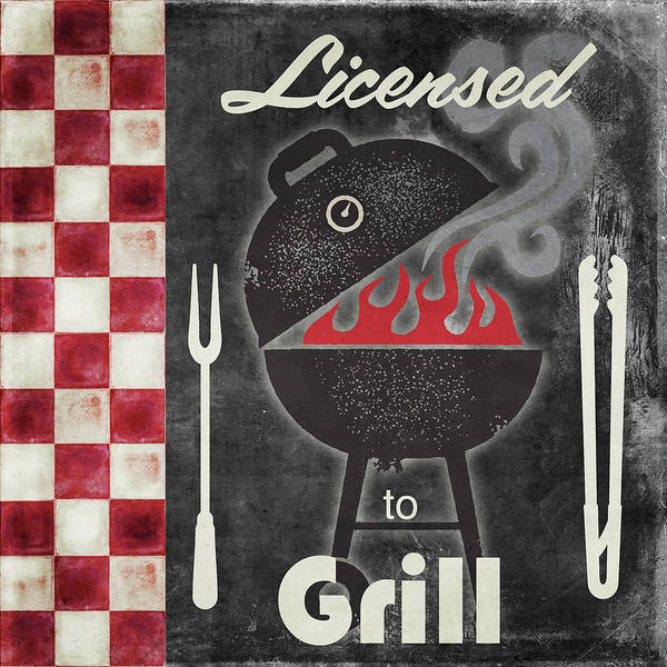 Bbq Painting - Texas Barbecue I by Mindy Sommers