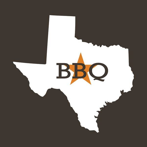 Digital Art - Texas Bbq by Nancy Ingersoll
