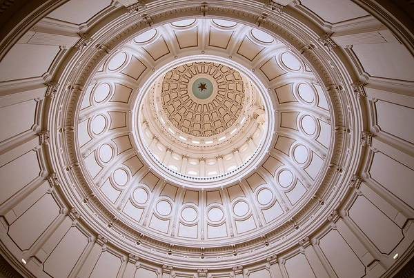Photograph - Texas Capital by Jay Anne Boza