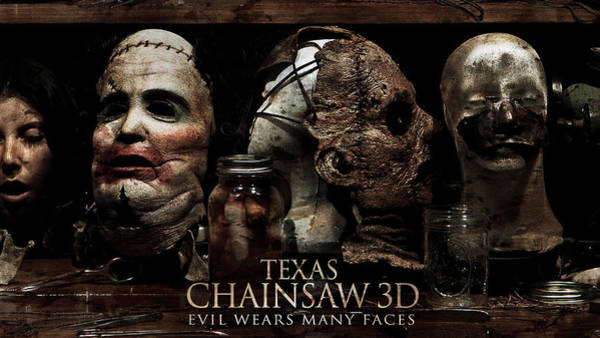 University Digital Art - Texas Chainsaw 3d by Super Lovely