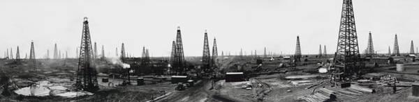 Old Main Wall Art - Photograph - Texas Crude 1919 by Daniel Hagerman