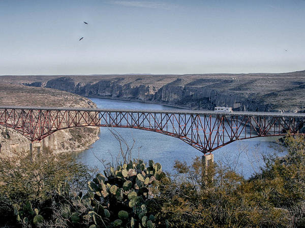 Photograph - Texas High Bridge by Charles McKelroy