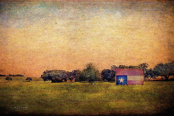 Wall Art - Digital Art - Texas Morn' by Carol Fox Henrichs