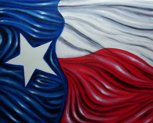 Lone Star Painting - Texas Pride by Jimmy Carender