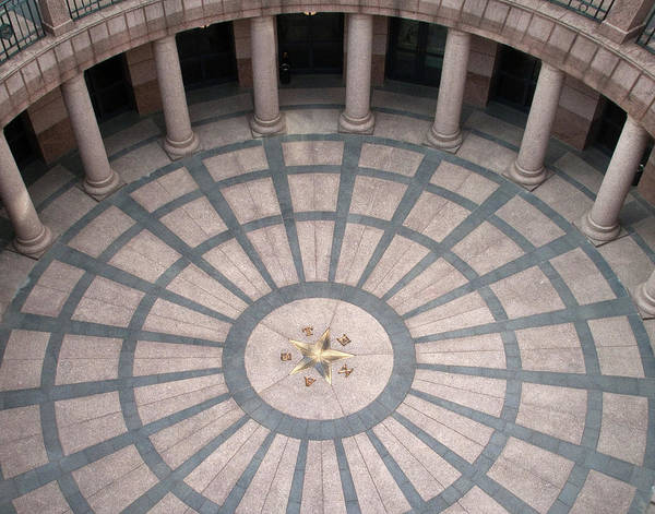 Wall Art - Photograph - Texas State Capitol Extension  by David and Carol Kelly