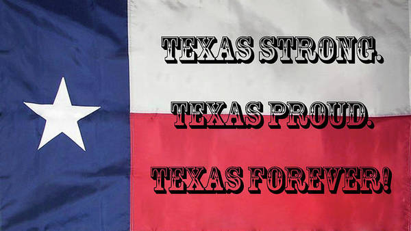 Digital Art - Texas Strong by Joe Paul