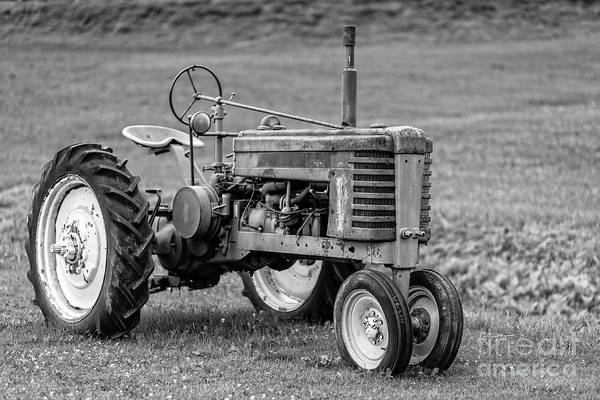 Wall Art - Photograph - Texas Tractor by Edward Fielding