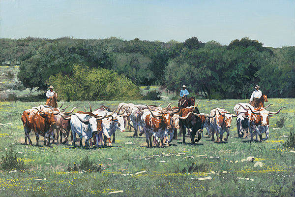 Painting - Texas Tradition  by Ragan Gennusa