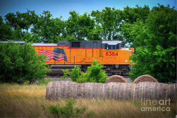 New Braunfels Photograph - Texas Train by Kelly Wade