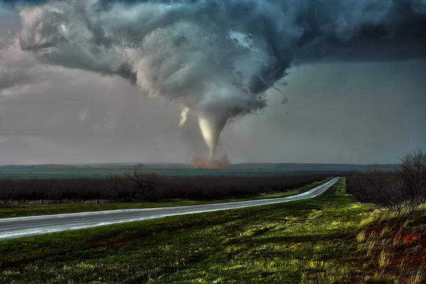 Photograph - Texas Twister by James Menzies