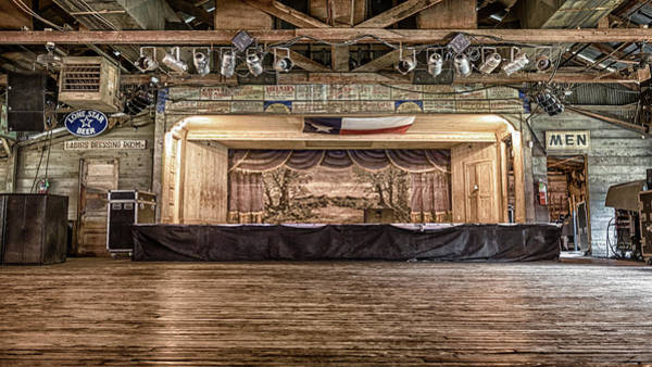 Wall Art - Photograph - Texas Two Steppin At Gruene Hall by Stephen Stookey
