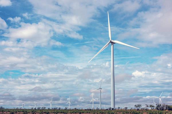 Photograph - Texas Wind Farm by SR Green