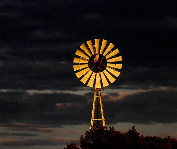 Wall Art - Photograph - Texas Windmill by George Gries