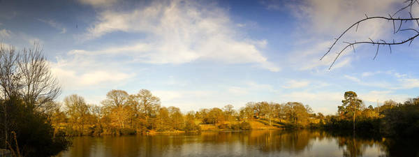 Photograph - Texas Winter Bass Pond by Philip Rispin
