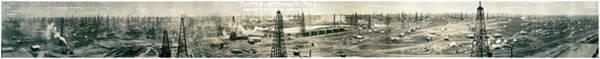 Wall Art - Photograph - Texas Wonder Oil Field 1919 by Daniel Hagerman
