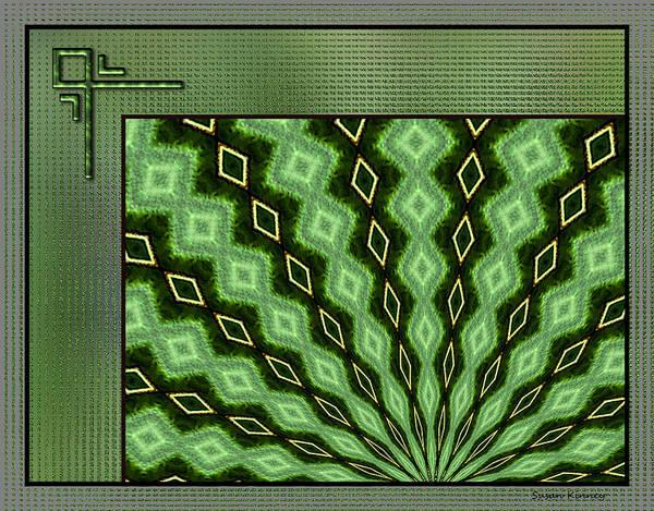 Digital Art - Texture Design 5 by Susan Kinney