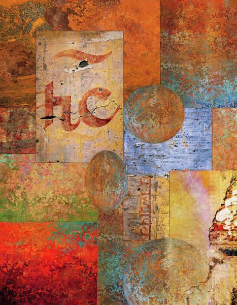 Stone Mixed Media - Texture by Jacky Gerritsen