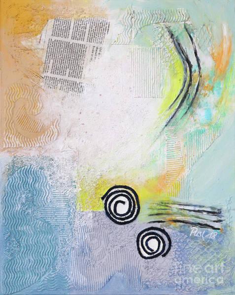 Wall Art - Painting - Texture Meets Fragment by Jutta Maria Pusl