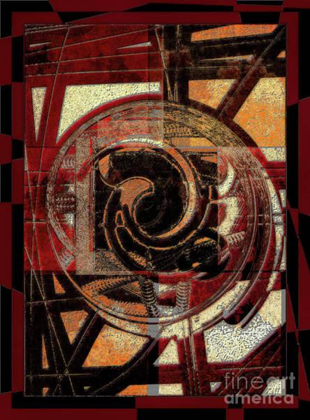 Digital Art - Textured Abstract by Lance Sheridan-Peel
